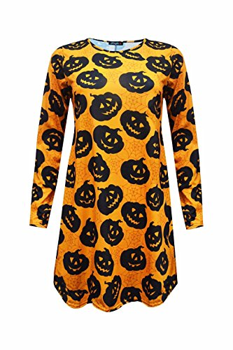 Comfiestyle - Robe - Manches Longues - Femme pumpkins