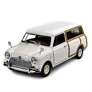 Kyosho - 8194w - Véhicule Miniature - Modèle À L'échelle - Austin Mini Countryman - Echelle 1/18