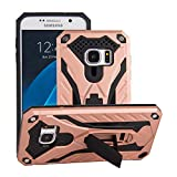 Forhouse Phone Hülle für Samsung Galaxy S7 Hülle Skin Durable Protective Case Back Bumper Cover [ Rose Gold ]