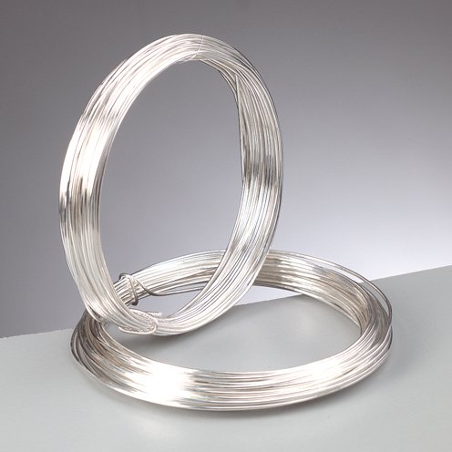efco Silberdraht mit Kupferkern, 0,8 mm, 6 m