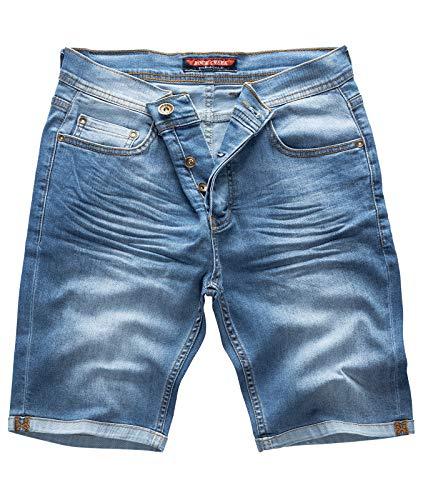 Rock Creek - Pantalón Corto - Slim - para Hombre Long Live Blue 29 W