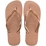 Havaianas Top metallic rose gold