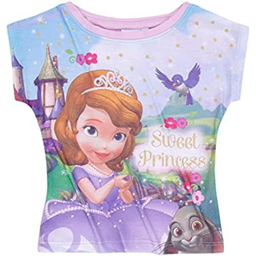 Disney Princesita Sofía Chicas Camiseta manga corta 2016 Collection - púrpura