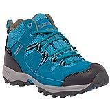 Regatta Great Outdoors Childrens/Kids Holcombe Mid Cut Waterproof Walking Boots (UK 3) (Enamel/Briar)
