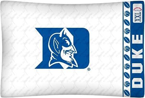 NCAA Duke Blue Devils Micro Fiber Pillow Case Logo