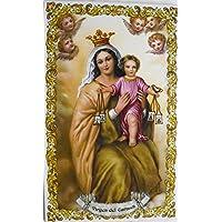 Azulejo de cerámica Virgen del Carmen 25 x 40 cm