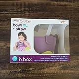 Baby Tableware Children es Three-in-one Straw Bowl Sealed Food Supplement Bowl Tableware Portable Durable-3,Purple#B