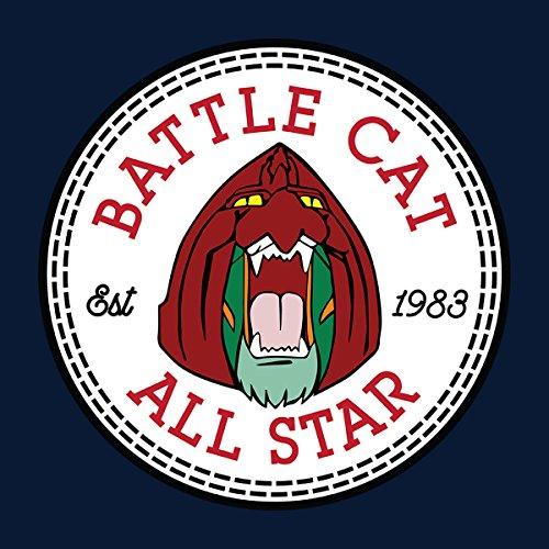 Battle Cat He Man All Star Converse Logo Men's Vest Navy Blue