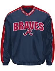 "Atlanta Braves MLB G-III ""Switch"" Pullover Embroidered Jacket Veste"