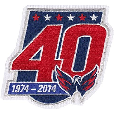 2014-15 Washington Capitals 40th Team Anniversary Jersey Patch by Patch Collection