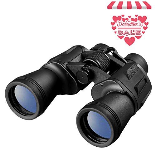 LESHP Prismáticos 20x50 - Binoculares Óptico Ideales para Observación de...