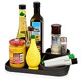 Premium Küchentablett aus Kunststoff 28x20cm | Für eine Perfekt organisierte Küchentheke