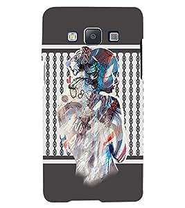 Fuson 3D Printed Girly Designer back case cover for Samsung Galaxy E7 - D4372