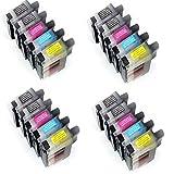 20x Druckerpatronen Ersatz für Brother LC900 komp. für Brother DCP-110C
