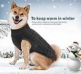 Idepet, maglione/cappottino caldo in lana, per cani, gatti e animali domestici piccoli, medi e grandi