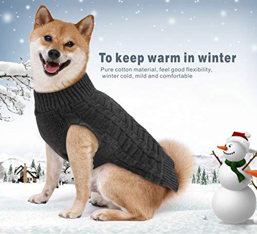 Idepet Hundepullover mit Kapuze, Fleece, für kleine und mittelgroße Hunde