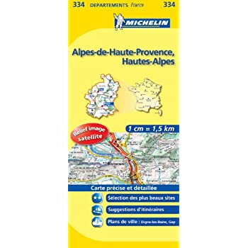 Carte DPARTEMENTS Alpes-de-Haute-Provence, Hautes-Alpes