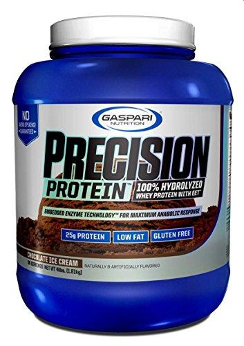 Gaspari Nutrition Proteine Isolate e Idrolizzate Precision Chocolate 4Lb - 2.202 kg - 51s3bs3v1gL