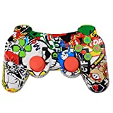 Zantec PS 3 Controller Bluetooth Game Controller Controller di gioco senza fili con sei assi e vibrazioni Controller e gamepad per PC Accessori di gioco genitore bambina partita
