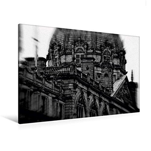 Calvendo Premium Textil-Leinwand 120 cm x 80 cm quer, Harrods Department Store | Wandbild, Bild auf Keilrahmen, Fertigbild auf echter Leinwand, Leinwanddruck Orte Orte