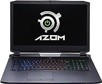 Azom Legion 17.3-inch Laptop (Intel Core i5-6500 6th Gen/8GB/120GB/Nvidia GeForce GTX 970M/Windows 10 Pro), Black