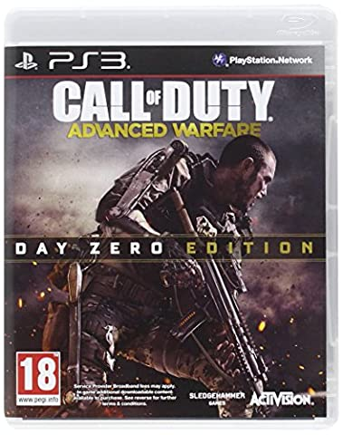 PS3 Call of Duty Advanced Warfare DAY ZERO Edition Uncut Playstation 3 UK Pegi