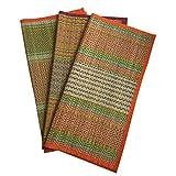Best The Grass Roots - Handcrafted Portable Prayer Mat/Aasan/Puja Mat/Meditation Mat/Multipurpose Sitting Floor Review