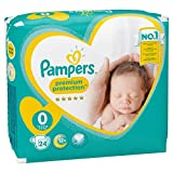 Pampers New Baby 24 Couches Taille Micro (1-2,5 kg)