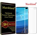 Marshland Front Screen Guard Flexible Anti Bubble Screen Guard Compatible with Samsung Galaxy S10 Plus (Transparent)