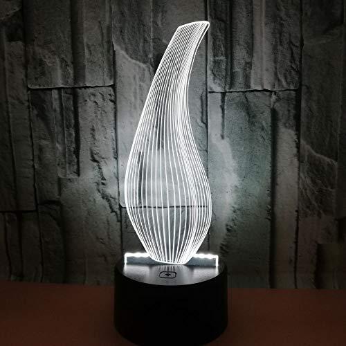 IYOUNG 3D Nachtlicht Flasche 3D Lampe Bunte Touch Fernbedienung Vase Geschenk 3D Tischlampe Fabrik Großhandel Kinderzimmer Deco Lampen