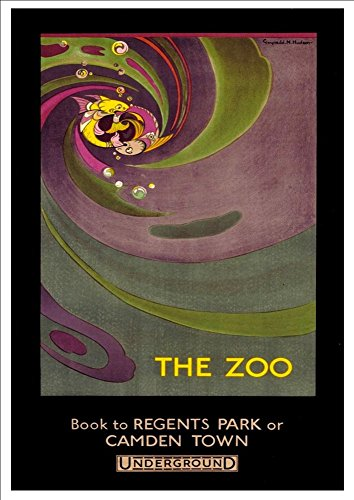 london-underground-the-zoo-wonderful-a4-glossy-art-print-taken-from-a-rare-vintage-railway-poster