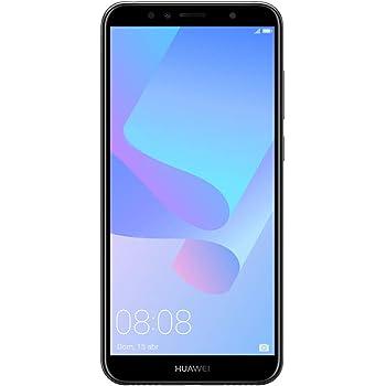 Huawei Y6 2018 Dual-SIM Smartphone 14,5 cm (5,7 Zoll) (3000mAh Akku, 16 GB interner Speicher, Android 8.0) schwarz
