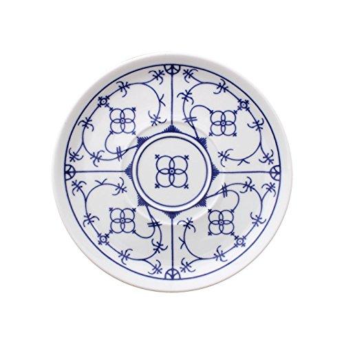 Eschenbach Porzellan Group Tallin Indischblau Untertasse 14,5 cm Porzellan, 1 x 1 x 1 cm