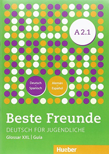 Portada del libro BESTE FREUNDE A2.1 Kursb.+XXL (alum.) (BFREUNDE)
