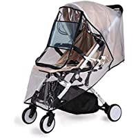 Bemece Universal Rain Cover for Pushchair Stroller Buggy Pram, Baby Travel Weather Shield