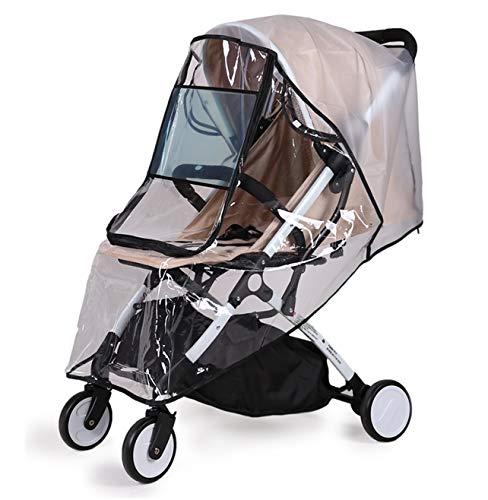 Bemece - parapioggia e zanzariera universale, per passeggino e carrozzina; protezione dal maltempo per viaggiare col tuo bambino