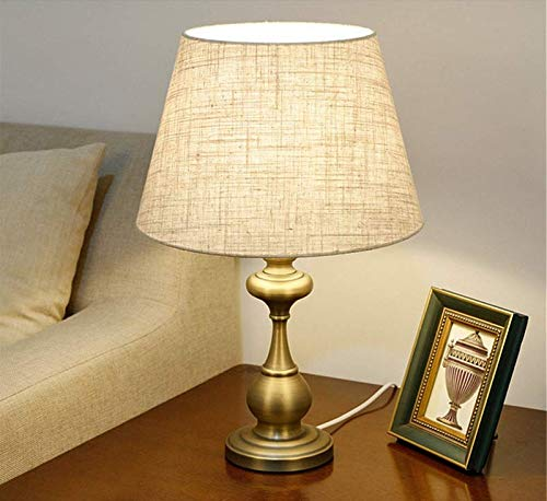 Vintage Kronleuchter Industriestil Matt Grün Bronze LED Amerikanischen Einfache Moderne Kreative Mode Fantasie Warme Romantische Schöne Vintage Schreibtischlampe Nacht Kinderzimmer 30 * 50 * 12 c