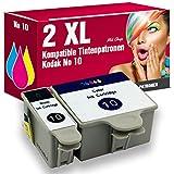 ms-point® 2 kompatible Druckerpatronen mit CHIP und Füllstandsanzeige für Kodak EasyShare 5100 / 5300 / 5500 / 6150 / ESP 3 / 3250 / 5 / 5210 / 5220 / 5230 / 5250 / 7 / 7250 / 9 / 9250 / Office 6150 / Hero 7.1 / 9.1 / Office 6.1 Patronen kompatibel zu NO10 3949914 3947066