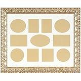 Brio - Marco para 11 fotos de 10 x 15 cm (40 x 50 cm), diseño con motivos barrocos