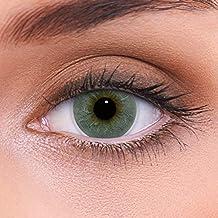 Altas lentes de contacto grises naturales de color