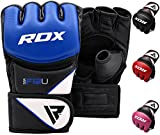 RDX MMA Handschuhe Profi Kampfsport UFC Boxsack Sparring Training Grappling Gloves Freefight Sandsack Maya Hide Leder Punching handschuhe