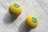 Ball für Frescobol aus Gummi | Passend zum Beachball-Set von Salt on Wood | Perfekt für das Strand-Match (4 Bälle)