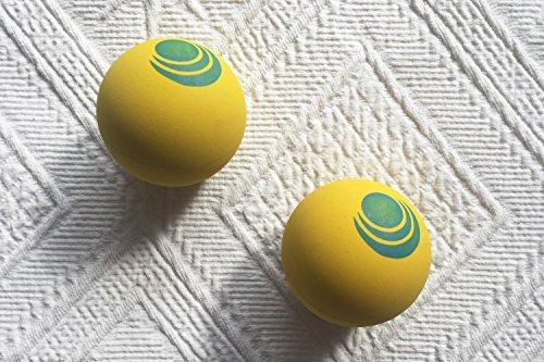 Ball für Frescobol aus Gummi | Passend zum Beachball-Set von Salt on Wood | Perfekt für das Strand-Match (2 Bälle)