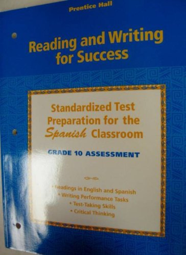 Reading And Writing For Success: Spanish Student Test Prep For Grade 10