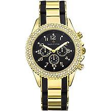 Timothy Stone collection AMBER BICOLOR - reloj mujer de cuartzo, color Oro / Negro