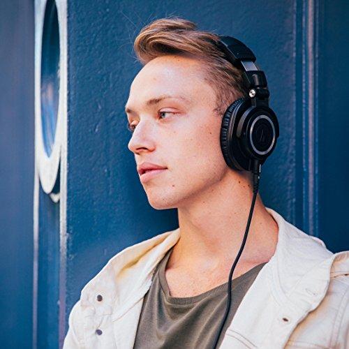 Audio Technica ATH-M50x DJ-Kopfhörer für Studio - 12