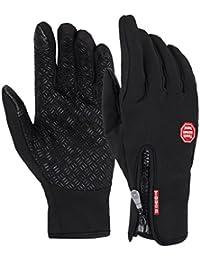 Lukis Herren Winddicht Handschuhe Sport Touchscreen Handschuhe