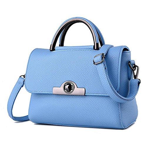 Solide PU cuir couverture-petit paquet carré diagonal paquet simple dames douce dur mode sac à main mode sacs à main sac