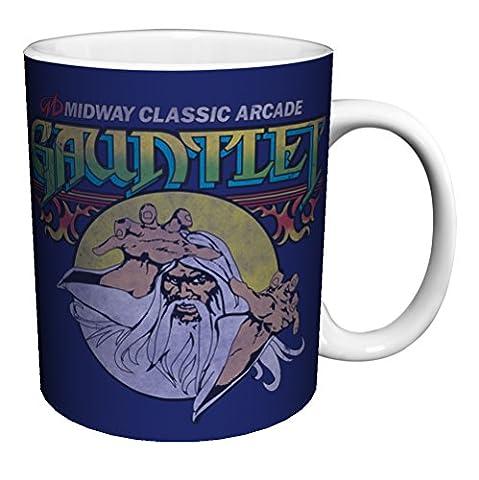 Midway Arcade Treasures Gauntlet Classic Video Game Gamer Ceramic Gift Coffee (Tea, Cocoa) 11 Oz. Mug by (Treasures Keramik-becher)