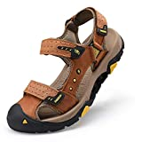 COOJOY Sports Outdoor Sandals Summer Men Closed Toe with Shock-Absorbing Cushion Fisherman Beach